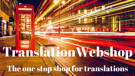 TranslationWebshop: the one stop shop for translations. Visit www.translationwebshop.com now!