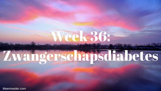 In week 36 kan ik eindelijk terecht bij de schoonheidsspecialist en komen we erachter dat mijn vrouw zwangerschapsdiabetes heeft. Lees het op http://meemoeder.com/week-36/