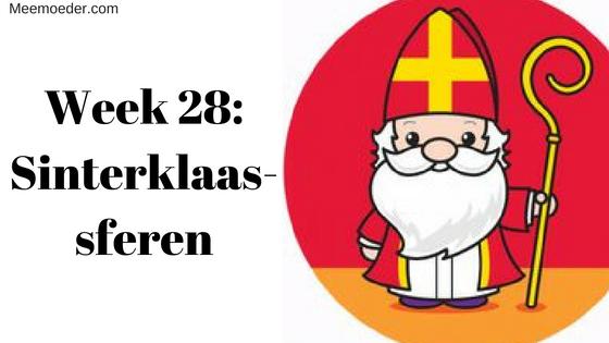 'Week 28: Sinterklaassferen' In week 28 komt de wereld om Sebastiaan heen in de Sinterklaassferen. Lees het op Meemoeder.com: http://bit.ly/SWk28
