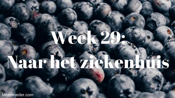 'Week 29: Naar het ziekenhuis' Sebastiaan is deze week heel erg ziek. We moeten zelfs naar het ziekenhuis voor een afspraak bij de kinderarts. Lees het snel op http://bit.ly/Wk29Zkh