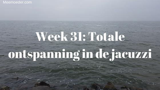 'Week 31: Totale ontspanning in de jacuzzi' In week 31 gunt Sebastiaan zijn mama's totale ontspanning in de jacuzzi, eet hij ineens als een malle en begint Kerstmis. Lees het snel op: http://bit.ly/Wk31Jac