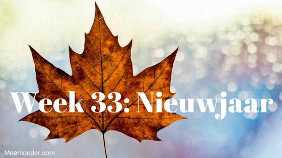 'Week 33: Nieuwjaar' Sebastiaan viert Nieuwjaar met zijn eerste tand, bezoekt Groningen en komt thuis in een poedel water. Op bezoek bij de kinderarts in het ziekenhuis begint hij spontaan te tijgeren. Lees het snel op http://bit.ly/Wk33NJ