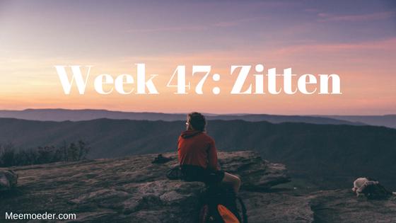 'Week 47: Zitten' In week 47 gaat Sebastiaan zomaar zitten en viert hij Pasen. Ook zijn de voorbereidingen voor onze reis naar Amerika in volle gang. Lees het op http://bit.ly/Zitten