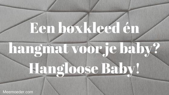 'Een boxkleed én hangmat voor je baby? Hangloose Baby!' De Hangloose Baby is een heerlijke hangmat voor je pasgeboren baby én stijlvol boxkleed of speelkleed in één. Had ik dit maar geweten voordat Sebastiaan geboren was. Ben je zwanger of ken je iemand die zwanger is? Dit is een uniek cadeau voor de kleine! Lees het hier: http://bit.ly/HanglBaby