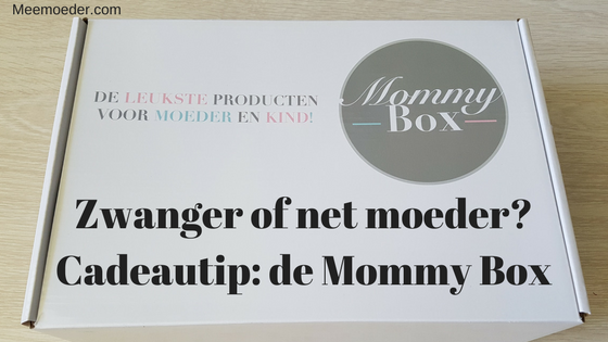 'Zwanger of net moeder? Cadeautip van Meemoeder.com: de Mommy Box' Ben jij net moeder, word je binnenkort moeder of ken je iemand die moeder wordt? Dan heb ik een leuke cadeautip voor je: de Mommy Box. Lees het hier: http://bit.ly/MommyBox