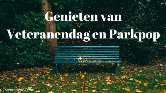 'Genieten van Veteranendag en Parkpop' Deze week is het Nederlandse Veteranendag en gaat Sebastiaan voor de tweede keer in zijn korte leven naar Parkpop. Lees het hier: http://bit.ly/VetdagPP