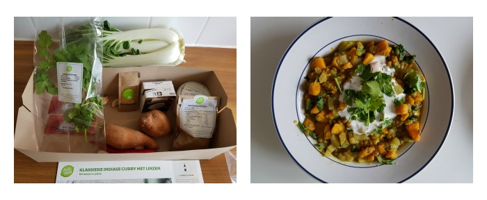 Review vegetarische maaltijdbox