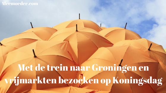 'Met de trein naar Groningen en vrijmarkten bezoeken op Koningsdag' Sebastiaan is deze week weer lekker zichzelf en struint met ons de vrijmarkten af op Koningsdag. Vorig weekend was hij ook nog eens met de trein naar Groningen gegaan. Nu hij beter is, kan hij al deze avonturen duidelijk beter aan: http://bit.ly/GrVrKd