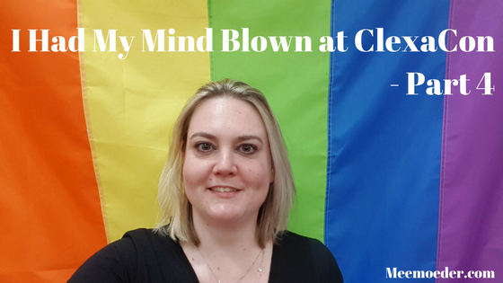 'I had my mind blown at ClexaCon 2018 – Part 4 (ClexaCon Day 2)' This is part four of my ClexaCon 2018 adventure. In this blog, I will tell you all about the following panels: Anyone But Me, Bisexual Representation, WayHaught, and Swerve: http://bit.ly/ClexaCon20184