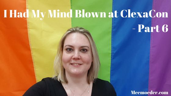 'I Had My Mind Blown at ClexaCon 2018 – Part 6 (ClexaCon 2018 Day 3)' This is part six of my ClexaCon 2018 adventure. April 4-10, I went on a trip to Las Vegas for ClexaCon, all the way from The Netherlands. In this blog, I will tell you all about ClexaCon 2018 Day 3. This Sunday, I visited three panels: YouTube 2.0, Doccubus and Valkubus, and Shethority. And now I know that something called post-con blues exists. The horror! http://bit.ly/ClexaCon20186