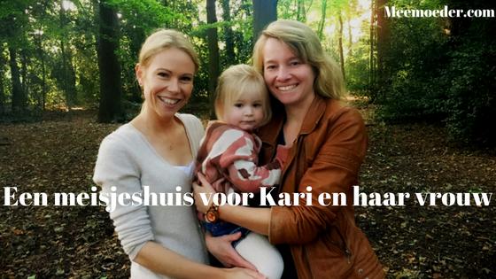'Een meisjeshuis voor Kari en haar vrouw' In mijn tweede gastblog vertelt Kari hoe haar vrouw en zij hun meisjesgezin stichtten. Zij hebben al een dochter en Kari is op dit moment zwanger van de tweede. In dit verhaal wordt duidelijk hoe belangrijk het is om naar jezelf te luisteren en te doen wat goed voelt: http://bit.ly/GBKari