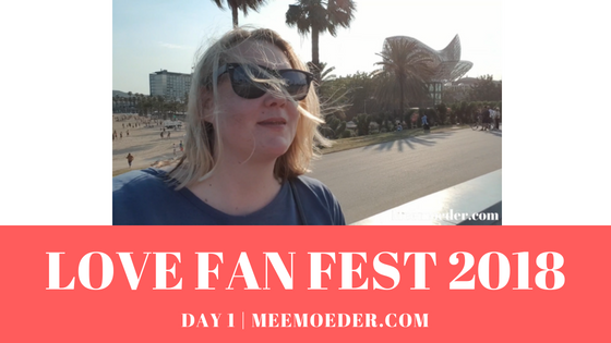 'Love Fan Fest 2018 – Part 1' June 21, I flew to Barcelona for Love Fan Fest 2018. Love Fan Fest is an LGBTQ festival that wants to celebrate, debate, and show diversity and that demands greater visibility of lesbians in films and television. In this first blog (and vlog), you can see me arriving and relaxing in Barcelona on Thursday and you can see how I am trying to get into the festival the next day. Did it work? Find out here: http://bit.ly/LFF20181