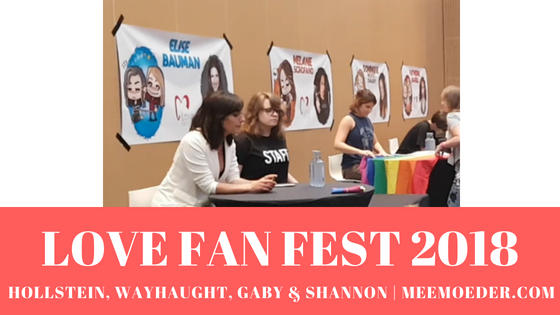 'Hollstein at Love Fan Fest 2018 (+WayHaught, Gaby Christian, and Shannon Beveridge)' This post is about the panels on Saturday by Natasha and Elise, Kat and Dom, Gaby Christian and Rhiannon Fish, and Shannon Beveridge. I may also have been kicked out by security somewhere. Yes. Blogging and vlogging is not always easy 😉 Find the blog and THREE new videos here: http://bit.ly/HollsteinLFF