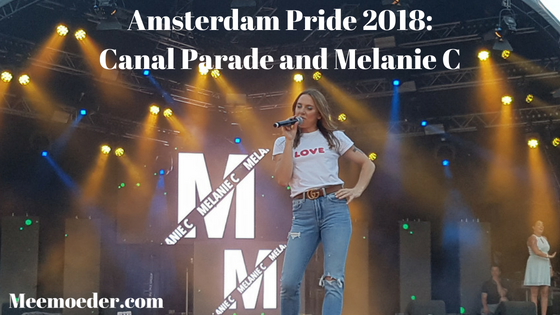 'Amsterdam Pride 2018: Canal Parade and Melanie C' Last Saturday, my wife and I visited the Canal Parade, which was the main event of Amsterdam Pride 2018. Sunday evening, I went back to Amsterdam for the closing party, because Melanie C. was performing. All in all, it was a very sunny and happy pride! Read about it here: http://bit.ly/AmsterdamPride18
