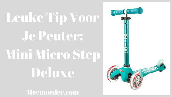 'Leuke Tip Voor Je Peuter: Mini Micro Step Deluxe' Laatst in de winkel liep onze zoon ineens recht op een step af, de Mini Micro Step Deluxe, pakte deze en stepte de winkel door. Ik stond even met verbazing te kijken, want ik wist niet eens dat hij kon steppen... Ik wilde deze tip graag met jullie delen: http://bit.ly/MiniMicroStep