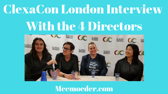 'The Importance of ClexaCon According to Its Directors' At ClexaCon London, the 4 directors sat down to talk about their amazing event for LGBTQ+ women. What are some of the projects that have emerged as a result of the previous two ClexaCon editions in Las Vegas? Here, you can read what Ashley, Danielle, Holly, and Heidi believe is the importance of ClexaCon: http://bit.ly/ClexaConDirectors