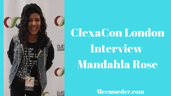 'Mandahla Rose Visited the ClexaCon London Press Room' On the final day of ClexaCon London, Mandahla Rose and Nicole Pacent visted the press room together. They are in Passage together, which will come out in 2019. They talked about other projects they have been working on, about queer and non-queer actors playing queer characters, and about mental health. Because the interview was so long, I have divided into two parts. This is Mandahla's part: http://bit.ly/MandahlaRoseCCUK