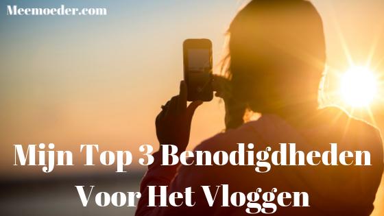 'Mijn Top 3 Benodigdheden Voor Het Vloggen' Vaak word ik gevraagd welke dingen ik allemaal gebruik voor het vloggen. Ik gebruik eigenlijk heel veel spullen, maar in deze blog leg ik je uit wat de drie kerndingen zijn. Als je deze 3 benodigdheden voor het vloggen hebt, kun je eigenlijk direct al beginnen met vloggen: http://bit.ly/Top3Vloggen