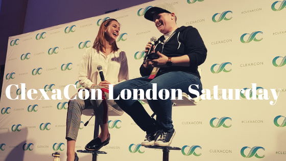 'ClexaCon London Saturday Adventures' ClexaCon London was amazing and in this blog post, you will read all about it: http://bit.ly/CCUKSat
