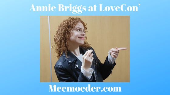 'Annie Briggs Discusses New Projects at LoveCon' At LoveCon', Annie Briggs had a few minutes to talk to me. I was able to ask her some of my questions and some fan questions. As a result, we laughed about toilet paper, she learned about a Carmilla petition, and I heard about her new projects. Read it here: http://bit.ly/AnnieLoveCon