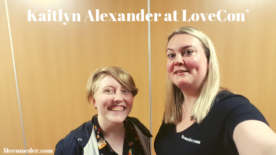'Kaitlyn Alexander Discusses Their New Projects at LoveCon' At LoveCon, Kaitlyn Alexander was kind enough to talk to me for about ten minutes. What a ray of sunshine they are! We talked about LoveCon', CarmillaCon, Slo Pitch series, and Show and Tell: http://bit.ly/KaitlynLoveCon