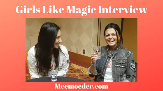 'Girls Like Magic Interview at ClexaCon 2019' One of the most precious moments of ClexaCon 2019 is the interview I had with Julia Eringer and Shantell Yasmine Abeydeera, who play Magic and Jamie in a web series called Girls Like Magic. We discussed their characters' friendship and relationship, bisexual representation, and season 2: http://bit.ly/GirlsLikeMagic