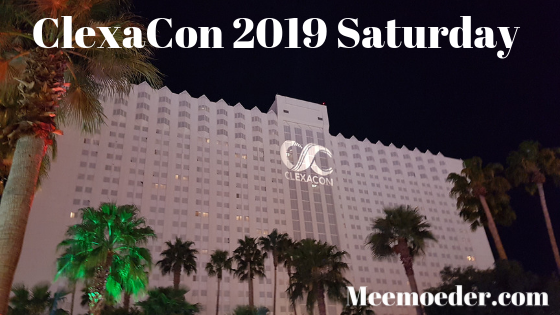 'ClexaCon 2019 Saturday'On ClexaCon 2019 Saturday, I went to two panels but I spent most of this day holding interviews. I actually had a few exclusive ones and there was a press room interview with One Day At A Time that I visited. In this blog post, I will tell you all about this day because it was stressful and truly heartwarming at the same time: http://bit.ly/CC2019Sat