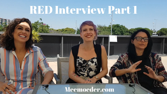 'RED Webseries Interview Love Fan Fest 2019 Part 1' The most magical moment of Love Fan Fest 2019 for me was the interview I had with Ana Paula Lima, Luciana Bollina, and Germana Belo of RED. In this part of the RED webseries interview, we discussed the current situation for LGBT+ people in Brazil, the beginning of RED, and the series up to season 4: http://bit.ly/RED1LFF