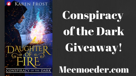 'Conspiracy of the Dark Giveaway!'Want to own a copy of the Conspiracy of the Dark, a new queer fantasy book? Karen Frost and I are hosting an Instagram giveaway. To enter, please follow me on Instagram and answer the following question with a tag in a comment: what friend would love this book too? You can find the Instagram post and rules here: http://bit.ly/ConspiracyDark