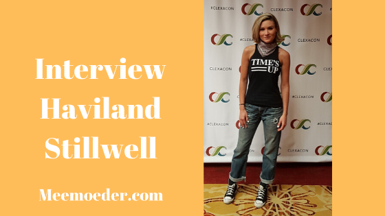 'Haviland Stillwell Discusses New Queer Roles and Shows' At ClexaCon 2019, I was able to talk to Haviland Stillwell. I saw her on a panel during the previous ClexaCon edition and watched her as part of my review of Freelancers Anonymous. I wanted to know a bit more about this movie, something she said on that panel, and her role in BIFL: http://bit.ly/HavilandStillwell19