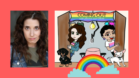 'Giveaway Shout-Out Video from Lauren Flans' Want to win a shout-out video from Lauren Flans made just for you? Meemoeder.com hosts a queer giveaway on Instagram, where you can win one. Here are all the rules.