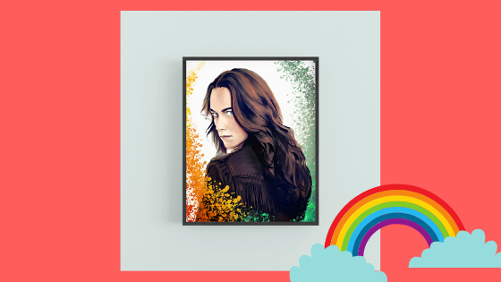 'Wynonna Earp Print Giveaway' Want to win a beautiful Wynonna Earp print by Kindness Untamed? Meemoeder.com hosts a queer giveaway on Instagram, where you can win one. Here are all the rules.