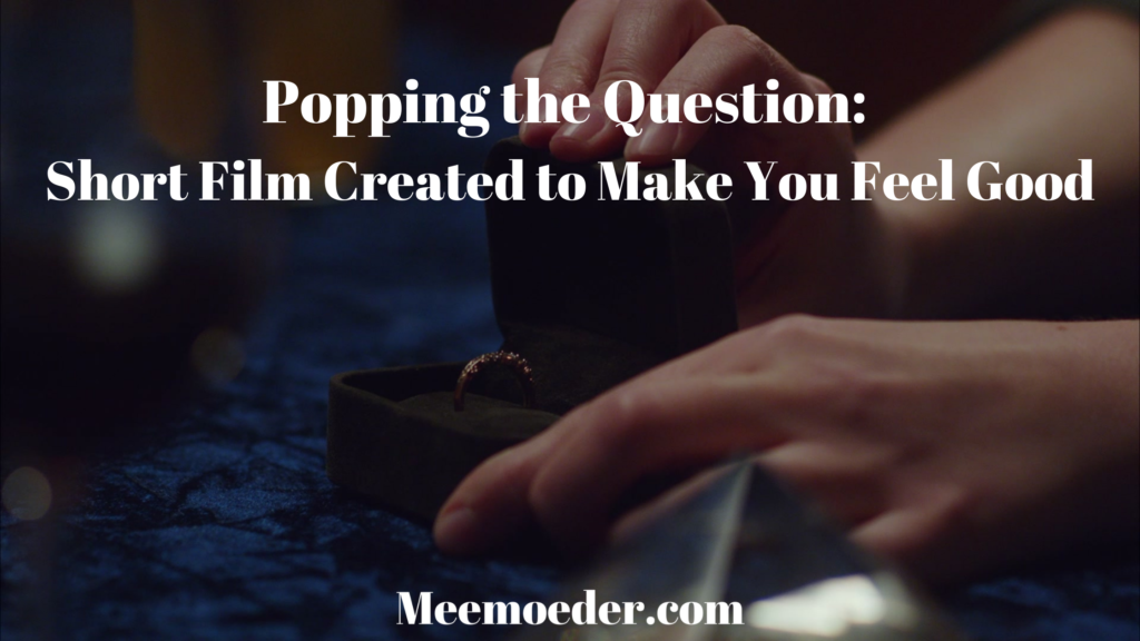 'Popping the Question: Short Film Created to Make You Feel Good.' How often have you seen a woman proposing to a woman on television? Rare gems aren't enough. Popping the Question is here to bring you another sweet love story later in life: http://bit.ly/PoppingTheQuestionFilm