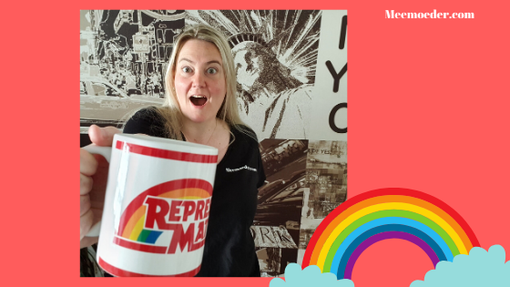'Giveaway Representation Matter mugs from Beyond Clexa' Meemoeder.com and Beyond Clexa are holding a queer giveaway on Instagram. The prize? 3 Representation Matter mugs from Beyond Clexa! Here are all the rules: https://bit.ly/IGGiveawayMugs